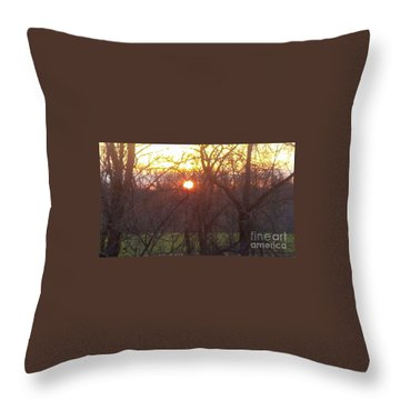 Light At Sunrise Throw Pillow