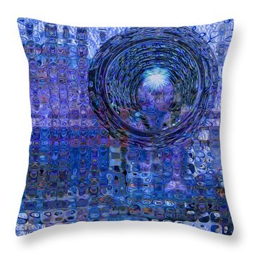 Light At The End Of The Tunnel Throw Pillow by Jack Zulli
