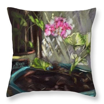 Light Throw Pillow by Carrie Joy Byrnes