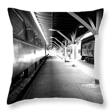 Throw Pillow featuring the photograph Light by Faith Williams