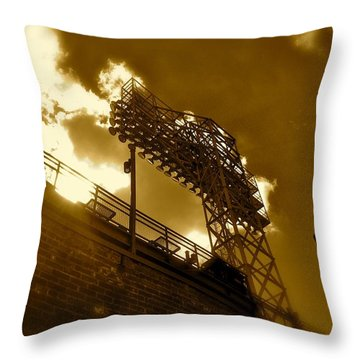 Light  Fenway Park Throw Pillow