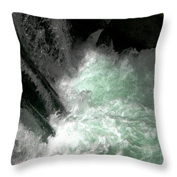 Light From Beneath Throw Pillow