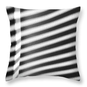 Throw Pillow featuring the photograph Continuum 9 by Steven Huszar