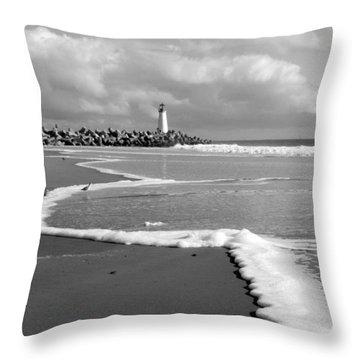 Santa Cruz - Light House Throw Pillow