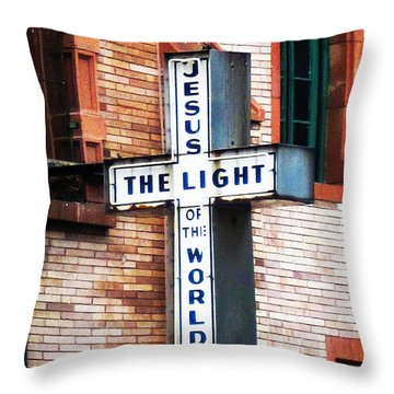 Light In The City Throw Pillow
