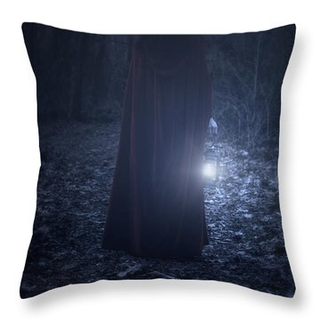 Light In The Dark Throw Pillow by Joana Kruse