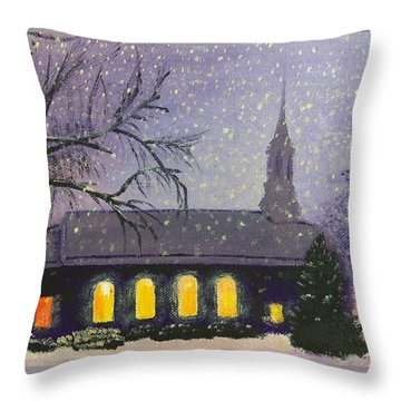 Light In The Darkness Throw Pillow by Glenn Harden