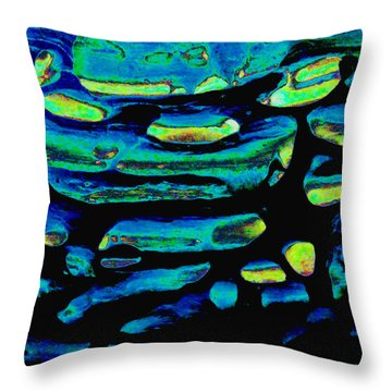 Light In The Distance Throw Pillow
