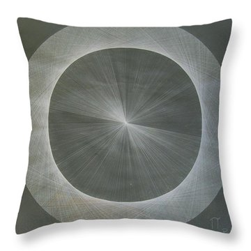Light Is Pi  The Shape Of Pi Throw Pillow