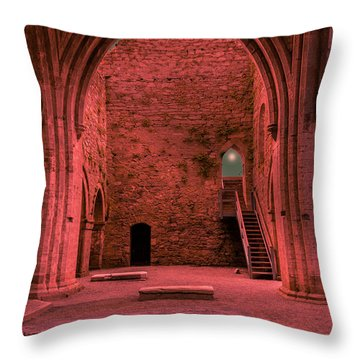 Light Of Ancient Souls Throw Pillow