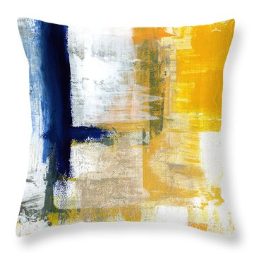 Light Of Day 1 Throw Pillow by Linda Woods