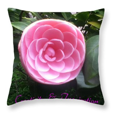 Light Of The Garden Throw Pillow