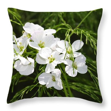 Light Of The White Throw Pillow