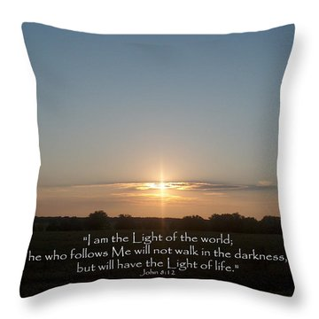 Light Of The World Throw Pillow by Robyn Stacey