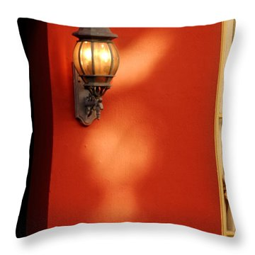 Light On Wall Throw Pillow
