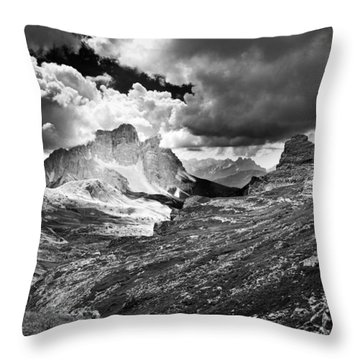 Light On Throw Pillow by Yuri Santin