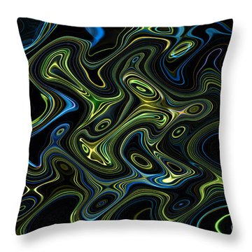 Light Painting 4 Throw Pillow by Delphimages Photo Creations