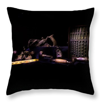 Throw Pillow featuring the photograph Light Painting 4 by Jay Stockhaus
