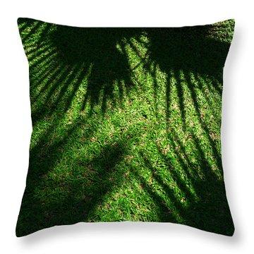 Light Play Throw Pillow