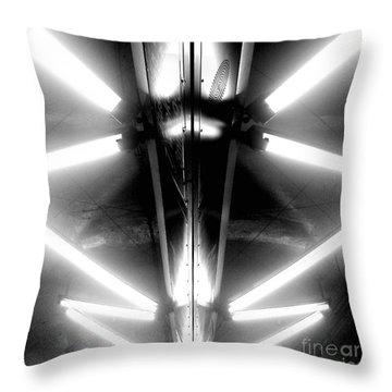 Light Sabers Throw Pillow