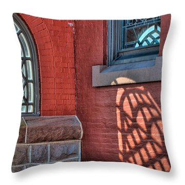 Light Shadows And Reflections Throw Pillow