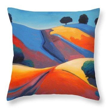 Light Show Throw Pillow by Gary Coleman