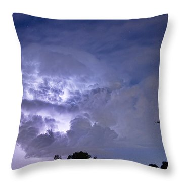 Light Show Throw Pillow by James BO  Insogna