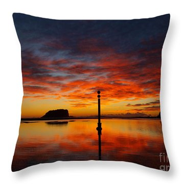 Throw Pillow featuring the photograph Light Show by Trena Mara