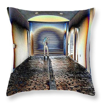 Light Switch Throw Pillow
