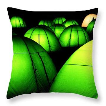 Light Tents Variation Five Throw Pillow