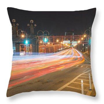 Light Traffic Throw Pillow