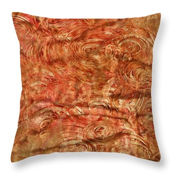 Throw Pillow featuring the mixed media Light Travel by Sami Tiainen