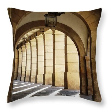 Light Unto My Path Throw Pillow