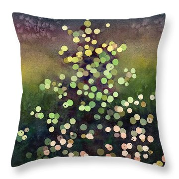 Light Up The Season Throw Pillow