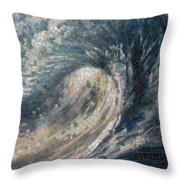 Light Wave  Throw Pillow