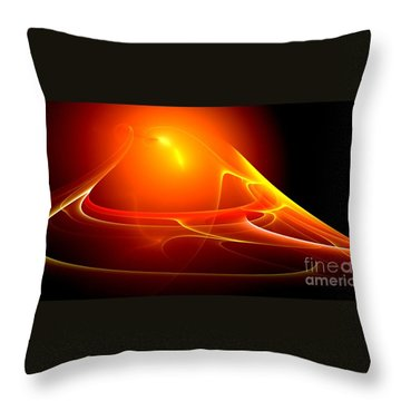 Lightdance   Throw Pillow by Peter R Nicholls