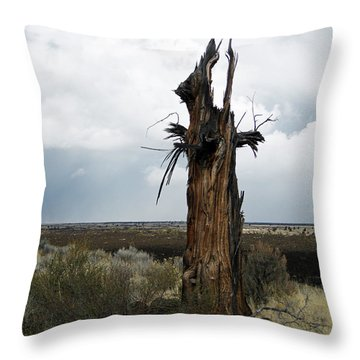 Lightening Strikes Throw Pillow