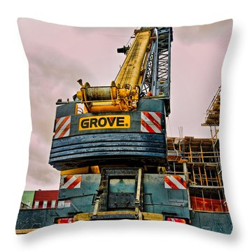 Lighter Than Air Throw Pillow by Steve Sahm