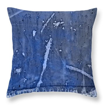 Lighthouse Blues Throw Pillow by John Stephens