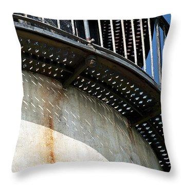 Lighthouse Catwalk Throw Pillow