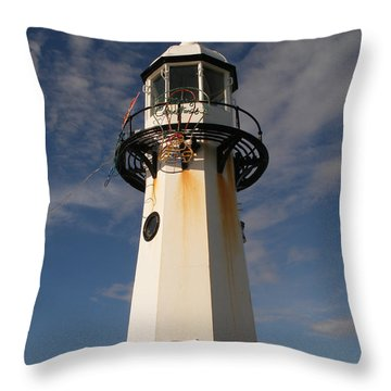Lighthouse  Throw Pillow by Pixel  Chimp