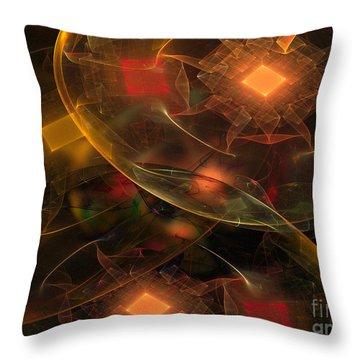 Lighting Decorations Throw Pillow by Klara Acel