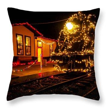 Lighting The 905 Throw Pillow by Toni Hopper