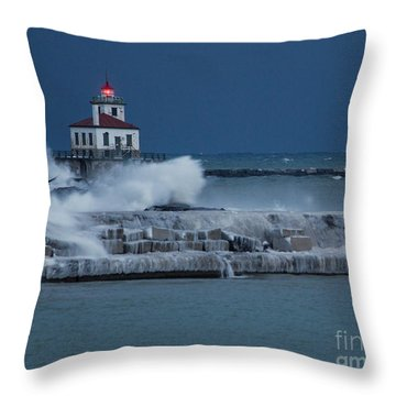 Lighting The Way Throw Pillow