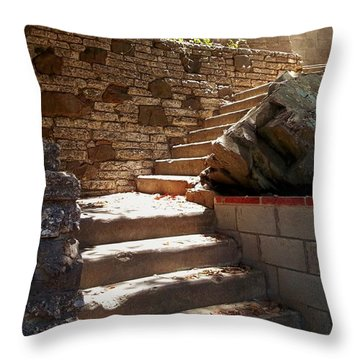 Lighting The Way Up Throw Pillow by Glenn McCarthy Art and Photography