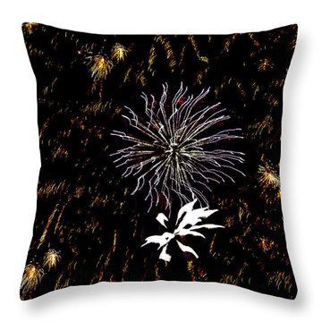 Lighting Up The Sky Throw Pillow by Aimee L Maher Photography and Art Visit ALMGallerydotcom