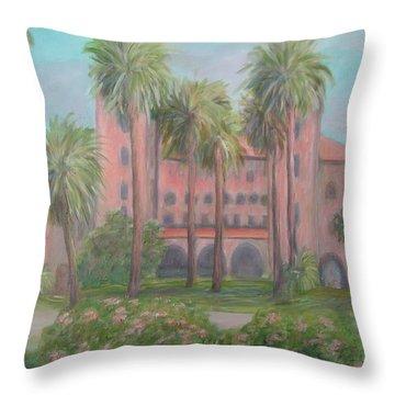 Lightner Museum Throw Pillow