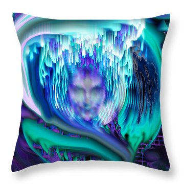 Lightning In A Jar Throw Pillow