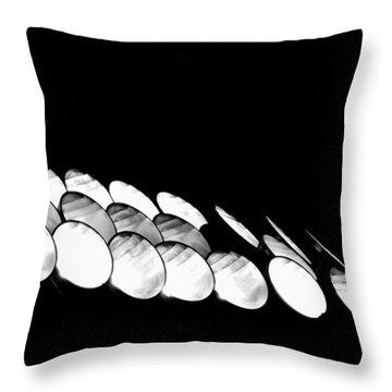 Throw Pillow featuring the photograph Lights Camera Action by Matt Harang