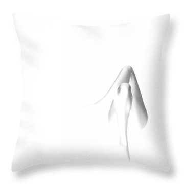 Like  A Lady Throw Pillow